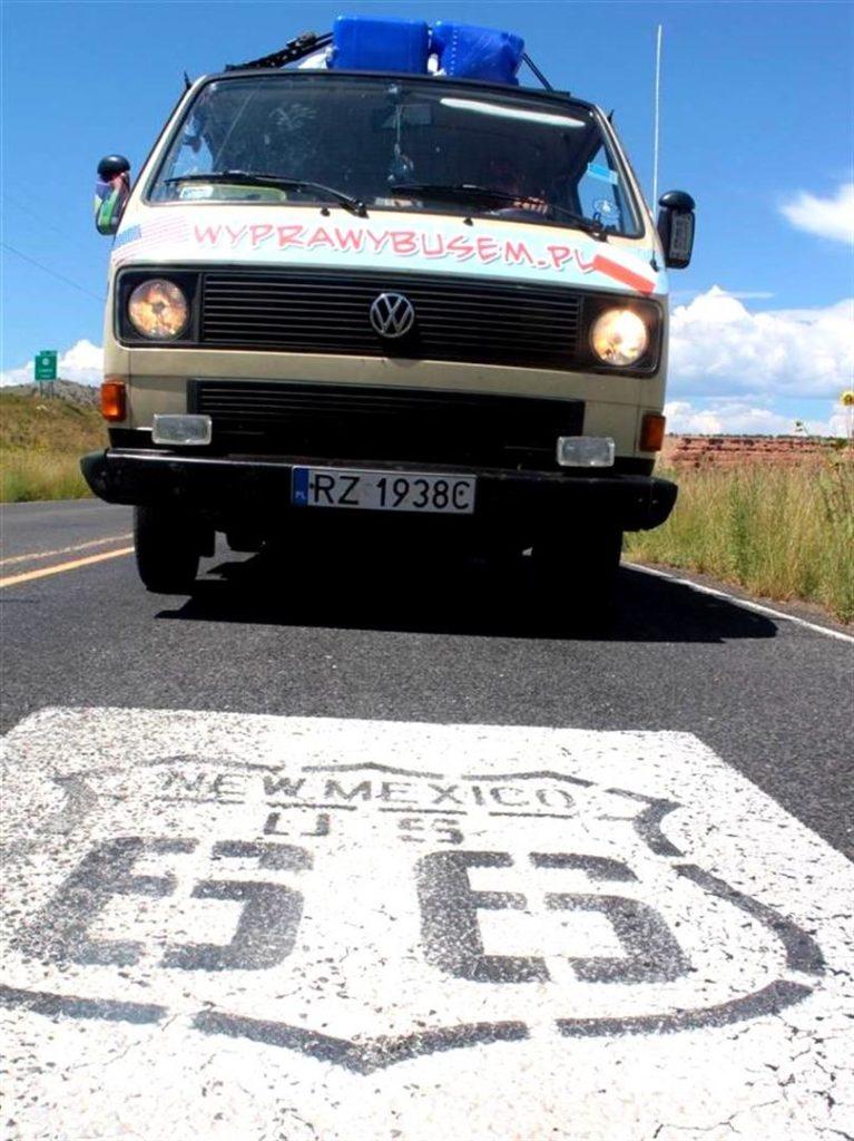 Historyczna droga Route 66