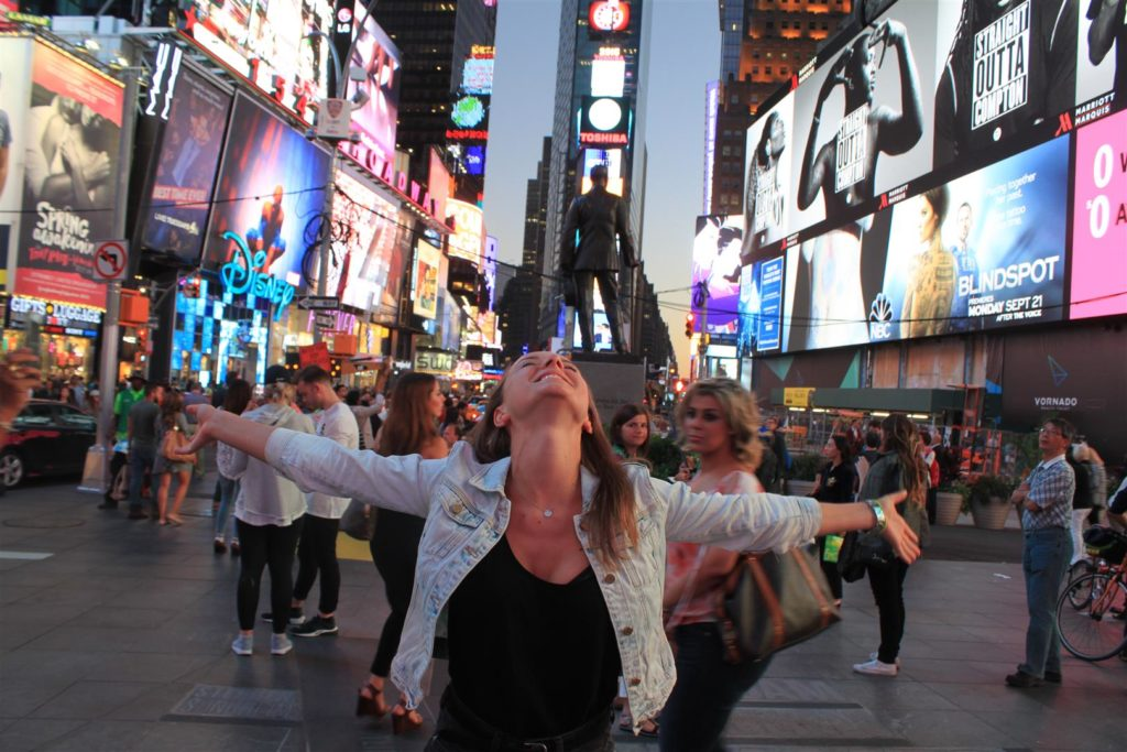 Time Square w Nowym Yorku