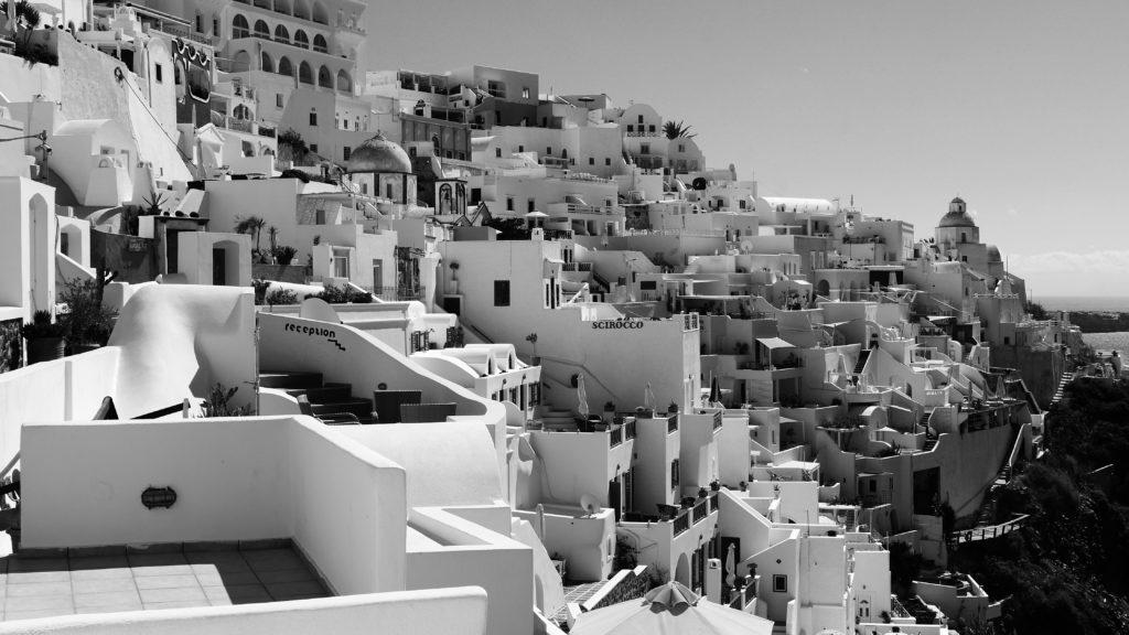 Piękne Santorini - greckie piekło na Ziemi