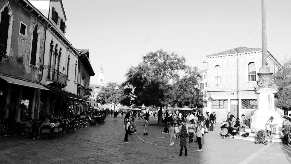 Plac świętej Margerity - plac kopany