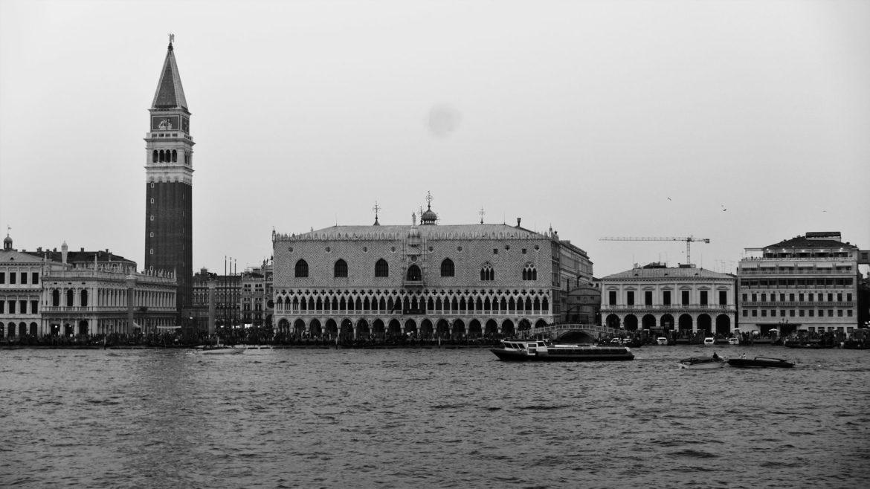 Plac Świętego Marka - widok z wody