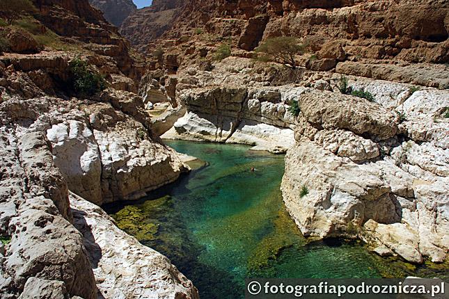 Kanion Wadi Shab