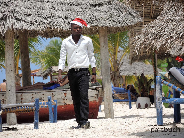 Mikołaj na Zanzibarze