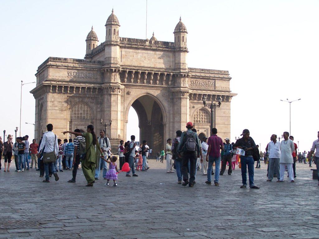 Brama Indii to główny punkt wycieczek w Mumbayu.