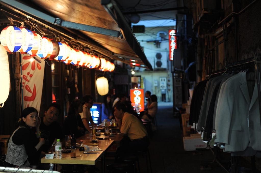 Japonia_ulica noca