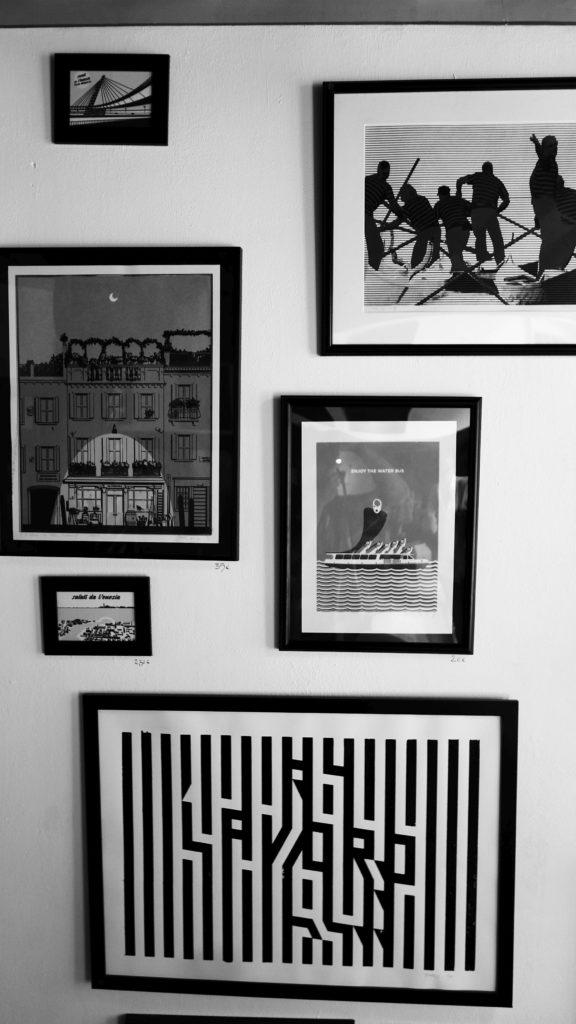 Plakaty z Wenecji